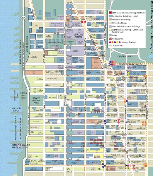 City Grid Map